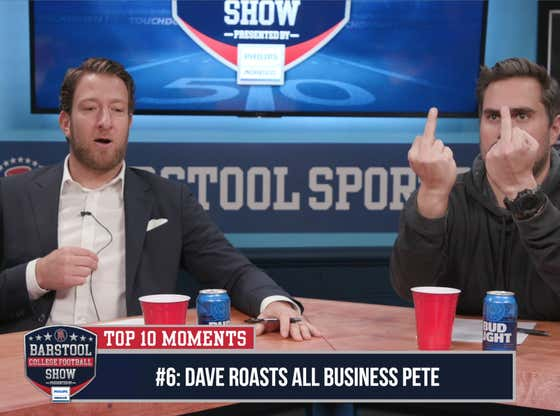 CFB Top 10 Moments: Dave Goes The FUCK OFF On All Business Pete (#6)