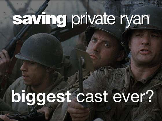 A Look Back At The Stacked Cast Of 1998's 'Saving Private Ryan'