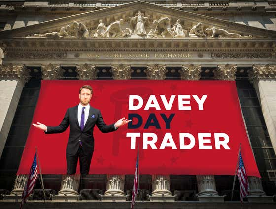 Davey Day Trader - March 23rd, 2020