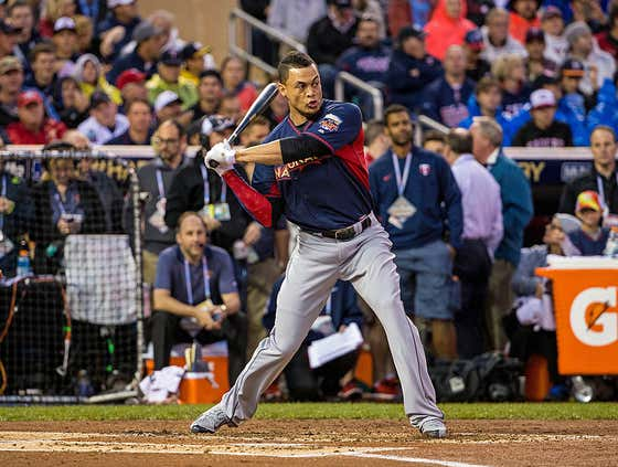 Wake Up With Giancarlo Stanton Hitting A 510 Foot Bomb In The Home Run Derby