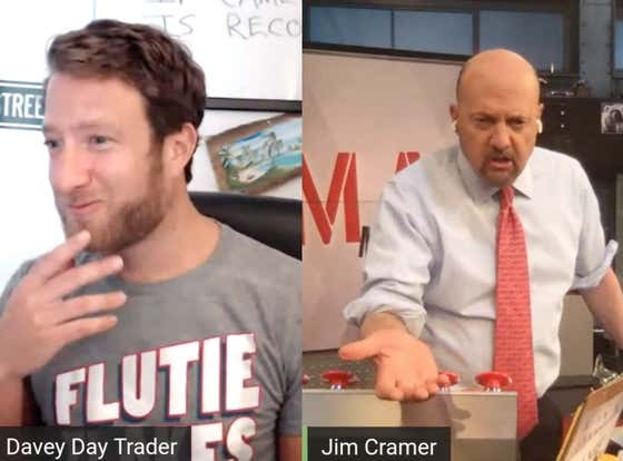 Jim Cramer Joins Davey Day Trader - March 24, 2020