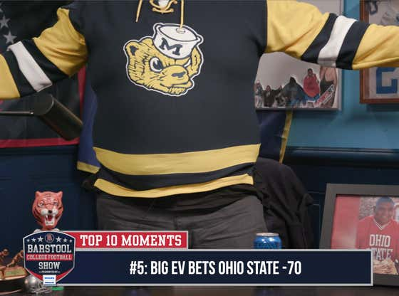 CFB Top 10 Moments: Dave Makes A Big Boy Bet With Big Ev (#5)