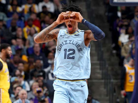 Wake Up With Some Ja Morant Ridiculousness