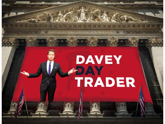 Davey Day Trader vs. The Closing Bell - March 25th, 2020
