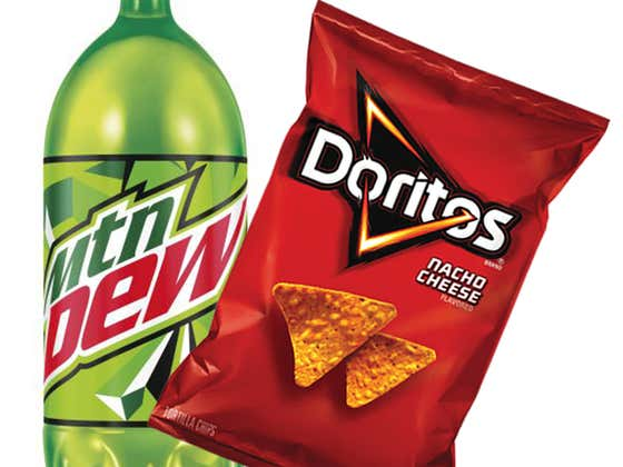 Mountain Dew Flavored Doritos Are Real, They Actually Exist
