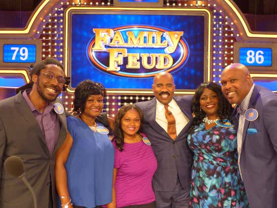 My Family Will Be On FAMILY FEUD On May 8th But I Won't Be Because I Didn't Get Picked