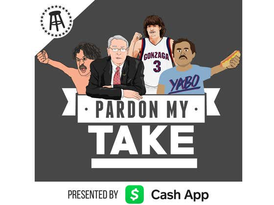 PMT: Adam Morrison, Dick Pound From The IOC, NFL 100 RB List, + Mt Flushmore of Candy