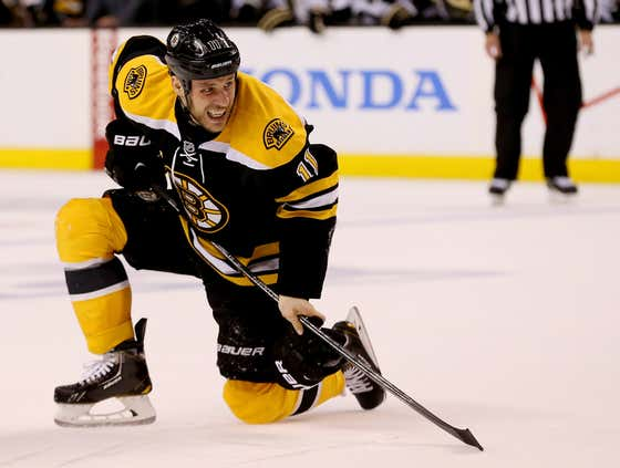 Wake Up With Gregory Campbell Finishing His Shift On A Broken Leg In The 2013 ECF