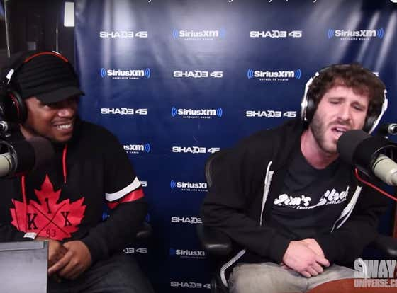 Wake Up With Lil Dicky's 2015 Freestyle On Sway In The Morning