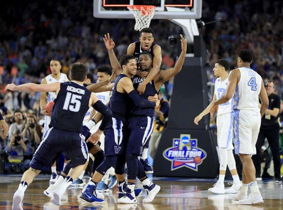 4 years ago today, Kris Jenkins hit one of the greatest shots in tournament history