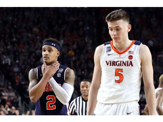 Now Playing: Was Kyle Guy Actually Fouled? (2019 Final Four Full Game)