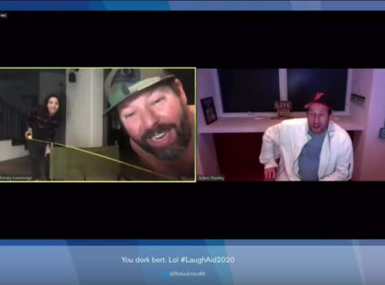 Bert Kreischer Meets Adam Sandler Over The Comedy Live Aid 2020 Stream And Geeks Out Just A TAD Too Much