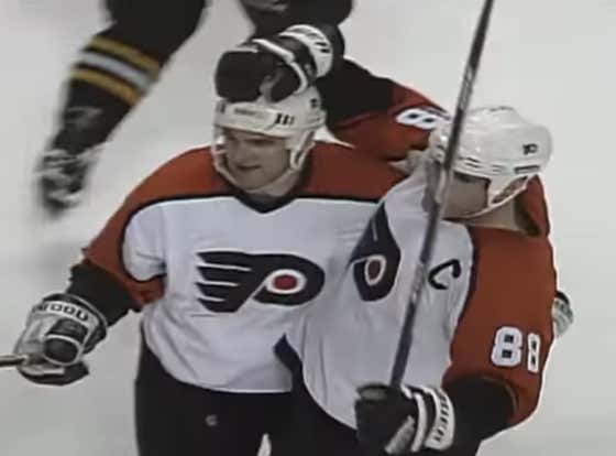 Dim The Lights And Get The Candles Going Because This Eric Lindros Shift Will Be The Sexiest Thing You Watch All Day