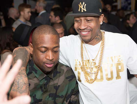 A PERFECT Allen Iverson Story: A.I. Met D. Wade For The First Time Ever Sitting In A Casino And Gave Him A $1,000 Chip Because He Was A Rookie