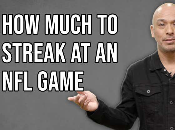 How Much Money For You To Streak At An NFL Game? Jo Koy Answers The Internet