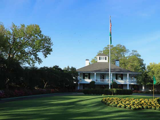 Behind The Scenes Of Augusta National's Clubhouse (According To The Instagram Account Mentioned On This Week's Snake Draft)