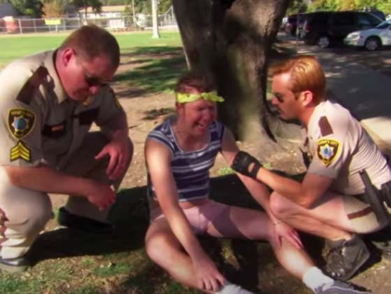 Start Your Day With The Best Of Terry From Reno 911!