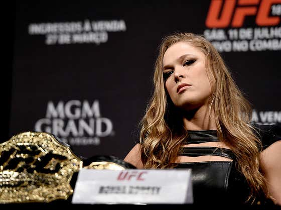 """Ronda Rousey Says She'll Never Return To WWE Full Time, Calls Fans """"Fucking Ungrateful"""""""