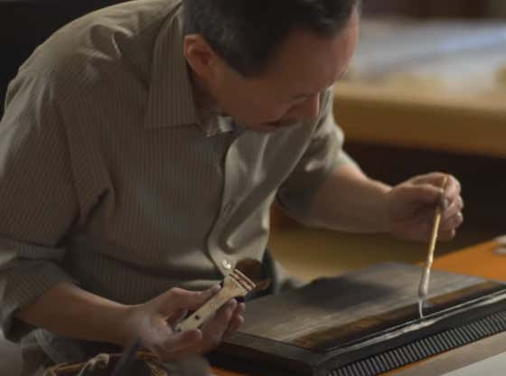 Go To Bed With ASMR Japanese Printmaking