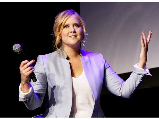 """Amy Schumer Changed Her Baby's Name Because His Original Name Was """"Gene Attell""""...""""Genital"""""""