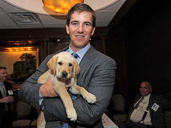 Eli Manning Won The Good Guy Award From The Pro Football Writers Association, Which Pretty Much Locks Up That He Is A Hall Of Fame Football Player And Human