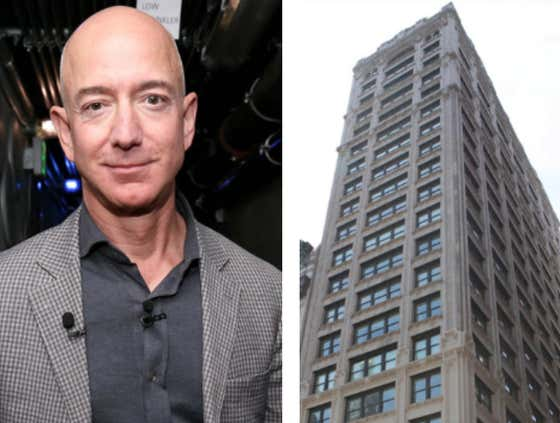 Jeff Bezos Is Creating His Own Mega Mansion Right In Smack Dab In The Middle Of New York City