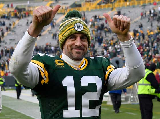 And You Guys Thought Rodgers Didn't Get A Ring This Year????