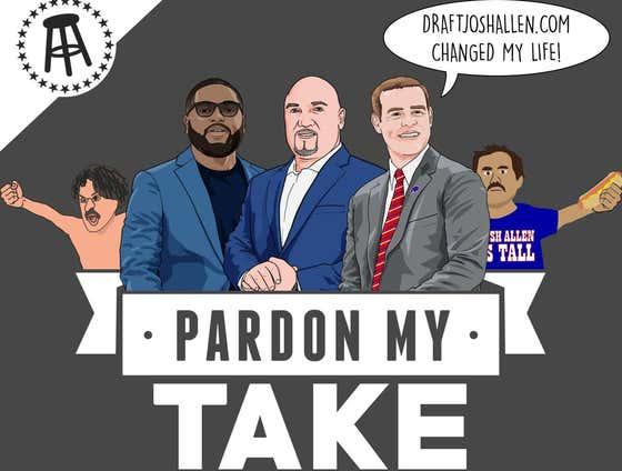 PMT: Bills GM Brandon Beane, Jay Glazer, Christian Dawkins and Mt Flushmore Of States