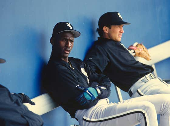 Michael Jordan Was Actually Offered a Spot On Oakland's Major League Roster When He Went to Play Baseball