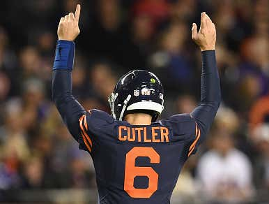 Jay Cutler, World's Best Teammate, Bailed Out Brandon Marshall When He Needed $60K To Cover A Gambling Debt