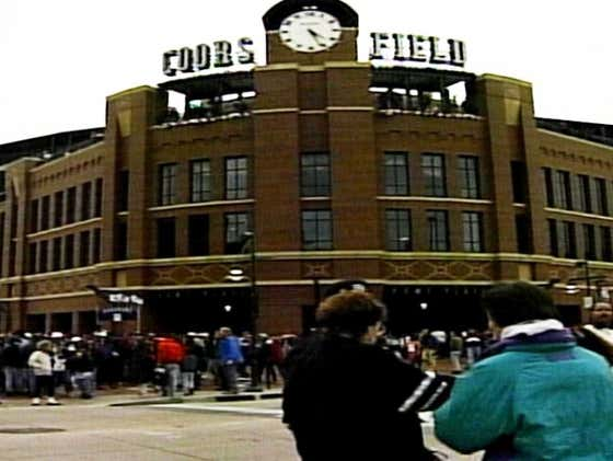 On This Date in Sports April 26, 1995: Baseball Return with Drama at Coors
