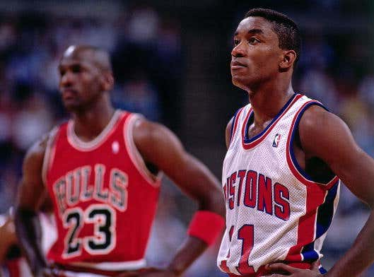 """Isiah Thomas Said He Didn't Know Michael Jordan Hated Him Until He Watched """"The Last Dance"""""""