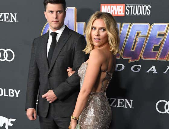Die Hard Yankees Fan Scarlett Johansson Should Not Have To Put Up With Her Fiancee Colin Jost's Repulsive Behavior Any Longer