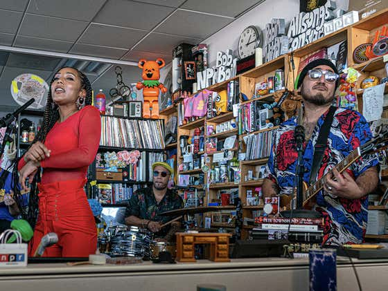 Something To Pass The Quarantined Time - The Free Nationals Tiny Desk Concert Feat. Anderson .Paak, Chronixx & India Shawn