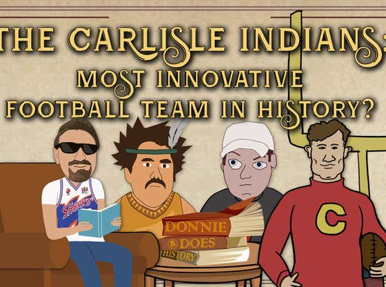 The Native Americans That Changed Football Forever | DONNIE DOES HISTORY