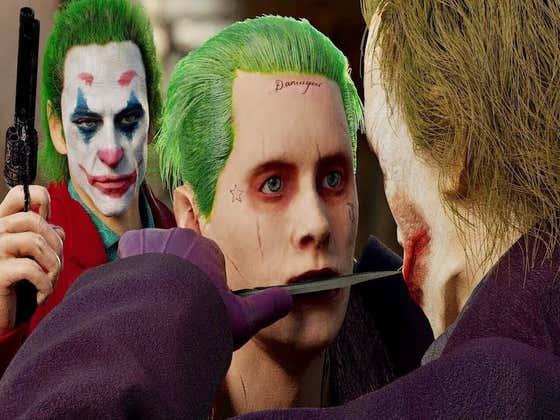 Heath Ledger's Joker vs. Jared Leto's Joker vs. Joaquin Phoenix's Joker In A Fight To The Death - Who Ya Got?
