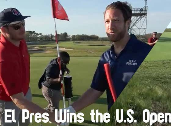 Wake Up With Dave Portnoy Absolutely DOMINATING The US Open