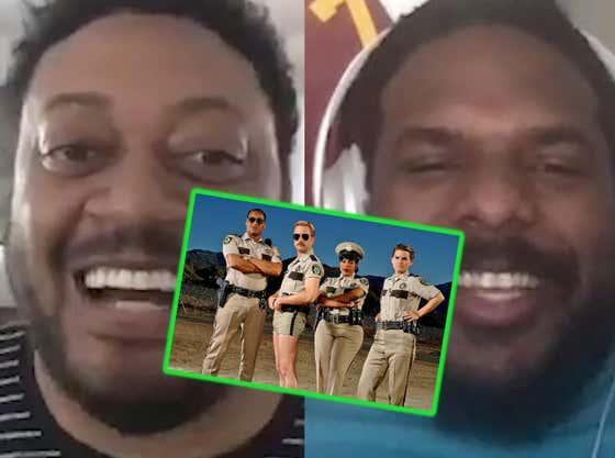 Cedric Yarbrough aka Deputy S. Jones Spills The Beans On The Reno 911! Reboot