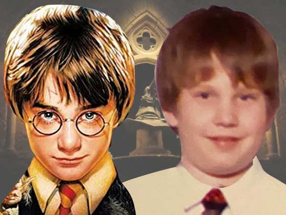 How in the Fuck Did I Win the 2002 Harry Potter Lookalike Contest?