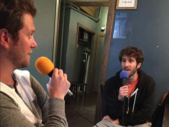 Lil Dicky Called His Shot 5 Years Ago Saying He'd Parlay His Rap Career Into TV