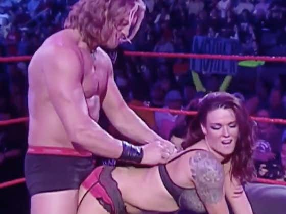 Remember When Edge And Lita Pretty Much Banged During RAW?