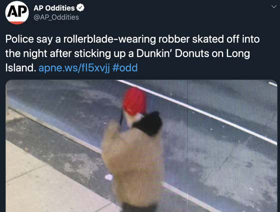 Please Do Not Besmirch Rollerblade Gangs By Rocking A Set Of Wheels As Your Getaway Vehicle After Robbing A Coffeeshop