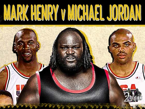 Dream Team Jordan Invited Mark Henry To His Birthday Party After Their Combative First Meeting At The '92 Olympics