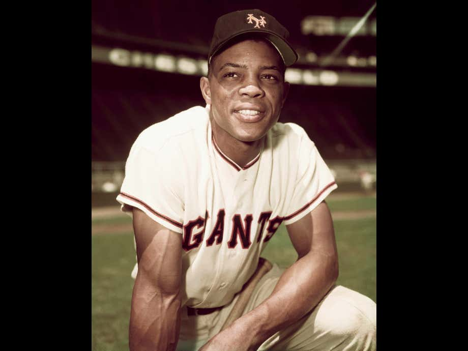"""If There's Anyone Who Can Swipe Out 89 Candles It's the """"Say Hey Kid"""". Happy B-Day Willie Mays!"""