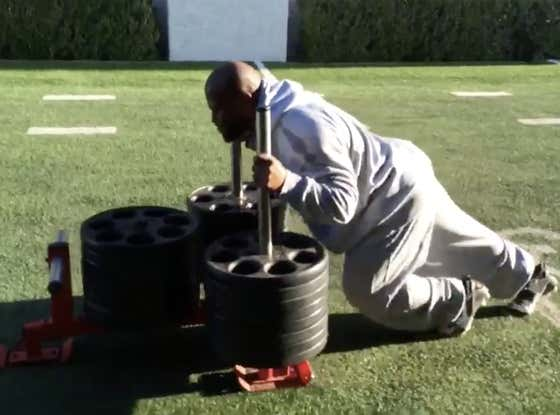 I Have Officially Invited James Harrison to Join The 1k Push-ups/Week Club