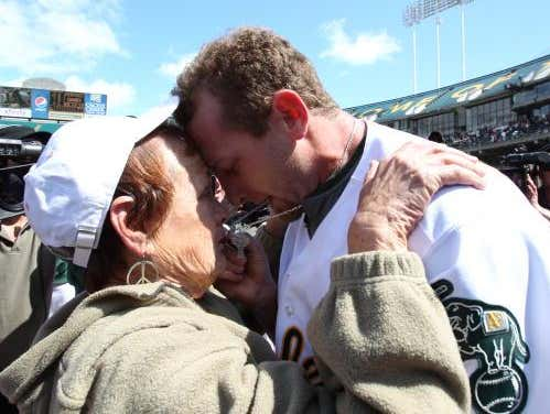 On This Date in Sports May 9, 2010: Perfection for Mother's Day