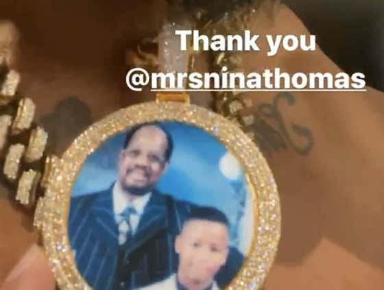 Everything Looking Good On Home Front For Earl Thomas, Wife Buys Him A Diamond Chain