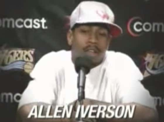 Lay In Bed Refusing To Start You Day With This Fun Allen Iverson PSA