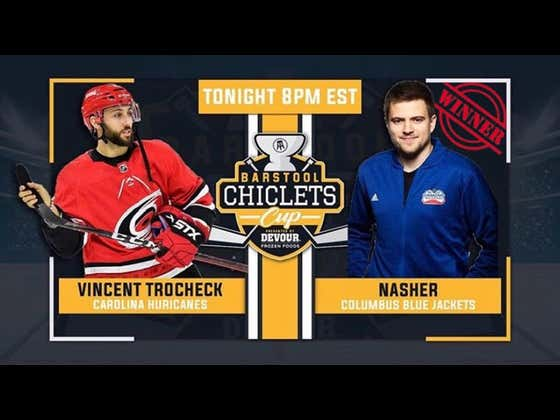 Nasher Advances To Round 2 Of The Chiclets Cup After Sweeping Vincent Trocheck 2-0 Tonight