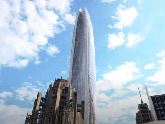 Chicago's Skyline Is About To Get Even Beefier, Tribune Tower East Has Been Approved And Will Be 2nd Tallest Building.  I Hate It
